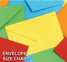 ENVELOPES SIZE CHART